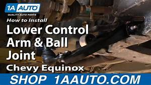 How To Replace Lower Control Arm And Ball Joint 05