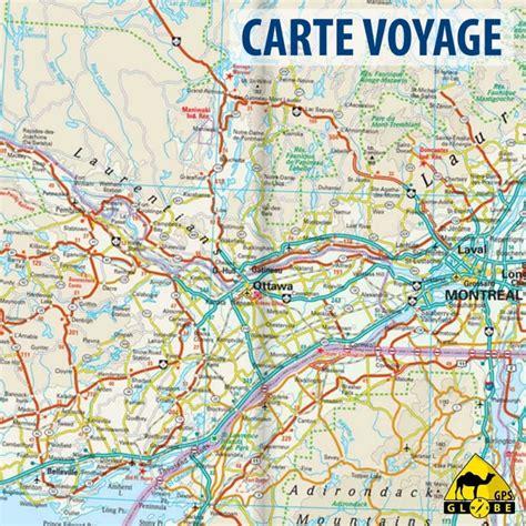 Carte De Touristique Ouest by Canada Ouest Carte Voyage 1 1 900 000 Gps Globe