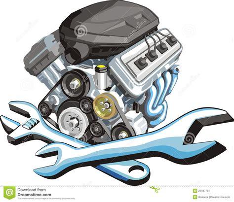 car engine service car engine repair stock vector illustration of auto