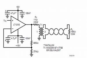 Twisted Pair Driver Adsl - Control Circuit - Circuit Diagram