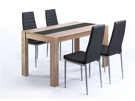 table et chaise conforama ensemble table et 4 chaises pegasus vente de ensemble