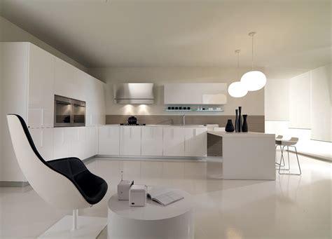 minimalist home kitchen  white color  ideas