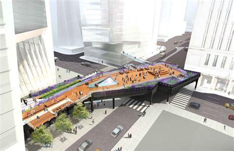 sous bureau york high line à york city un parc urbain sur la voie ferrée