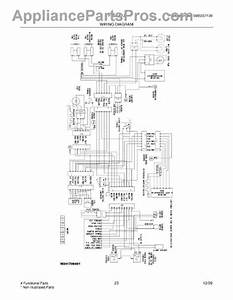Parts For Frigidaire Frs6lf7js0  Wiring Diagram Parts