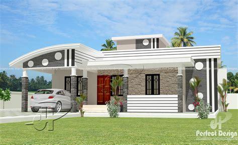 1152 SQ FT MODERN SINGLE FLOOR HOME – Kerala Home Design