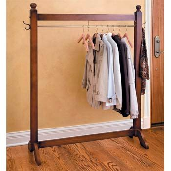 wooden clothes rack jeri s organizing decluttering news no clothes closet
