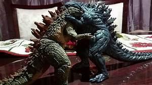 Godzilla earth (2017) vs Legendary Godzilla (2014) - YouTube
