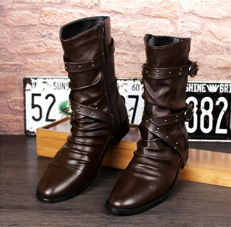 mens biker boots cheap popular mens motorcycle boots buy cheap mens motorcycle