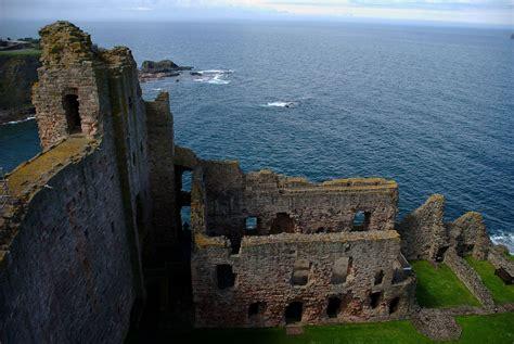 filetantallon castle ruined wing  abovejpg
