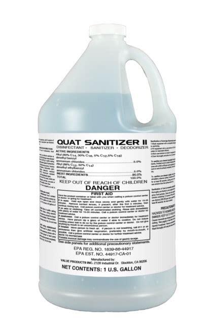 quat sanitizer
