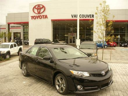 Washington Toyota by The All New 2012 Toyota Camry Has Arrived At Vancouver