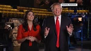 Donald Trump Hosts 'Saturday Night Live' Amid Protests ...