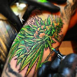 Design Marijuana Weed Tattoo