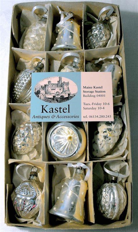 antique german glass christmas ornaments antique german
