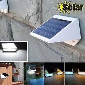 Solar Powered Outdoor Lights Garage