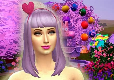 katy perry sweet world hair acessory at my stuff 187 sims 4 updates
