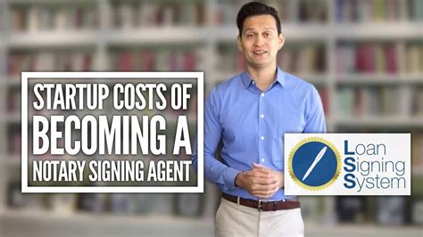 Startup Costs Of Becoming A Notary Loan Signing Agent