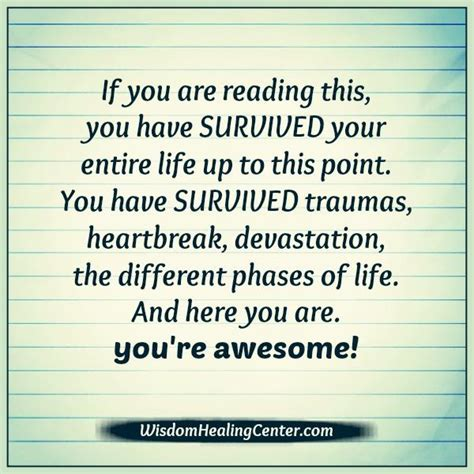 You Are Awesome If You Are Reading This  Wisdom Healing Center