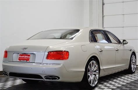 white bentley flying spur 2015 bentley flying spur white sand newmarket tan and