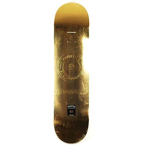 Primitive Gold Bar Deck 81  Forty Two Skateboard Shop