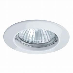 Elegant recessed ceiling light for open