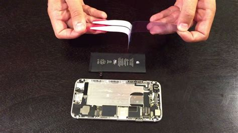 iphone  battery adhesive installation replacement guide