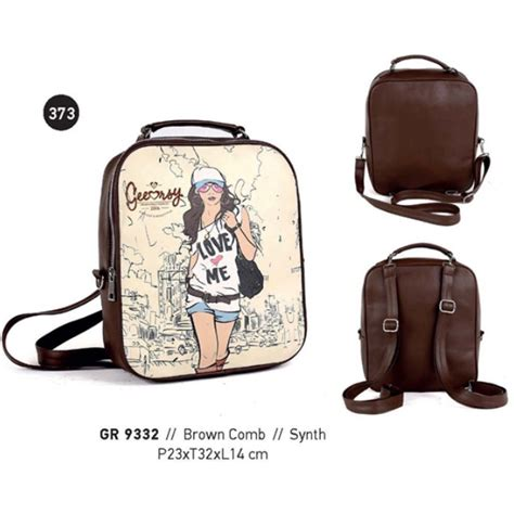 tas wanita bag wanita tas ransel wanita tas gendong