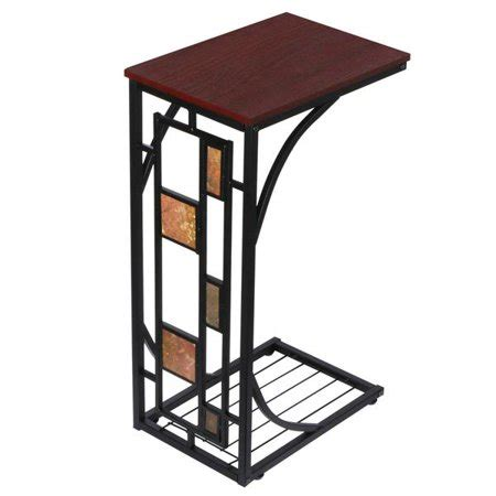 Living Room Side Stand by Yaheetech Living Room Sofa Side End Snack Table Tray Stand
