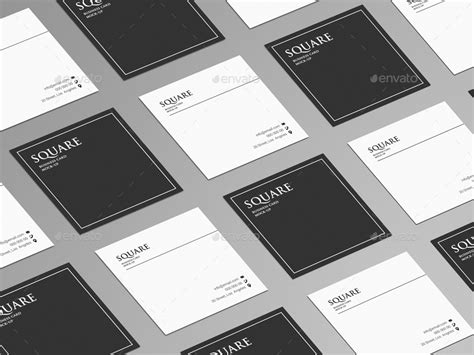 Square Business Card Mockup Square Business Card Mock Up Sample Dump Truck Business Plans Cooperation Letter Samples Example For Medical Assistant Printing Your Cards Marketing Block Style Plan Mission Statement Internet Cafe