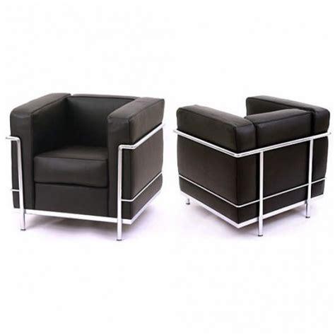 canap le corbusier lc2 fauteuils lc2 le corbusier cassina