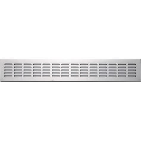 grille aeration chambre grille d 39 aération aluminium anodisé l 50 x l 8 cm leroy