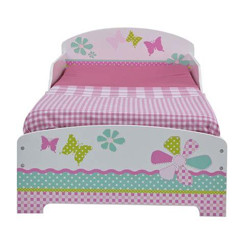 Girls Pretty Pink Patchwork Toddler Bed Mattress New