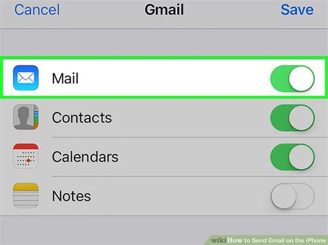 how to update email password on iphone how to send email on the iphone with pictures wikihow How T