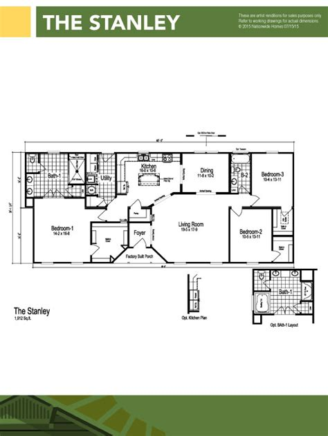 what is a ranch style modular homes in hstead nc modular homes jacksonville