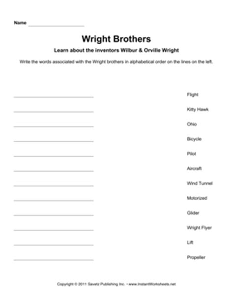 all worksheets 187 wright brothers worksheets printable