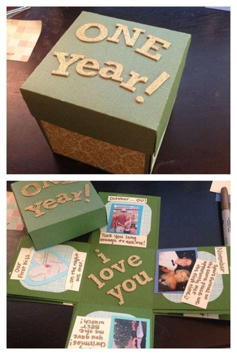 year wedding anniversary gift ideas   diy