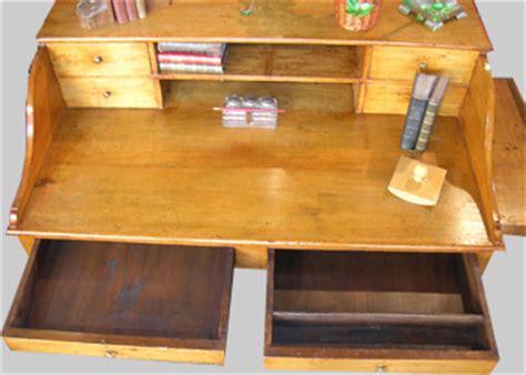 bureau authentic style ancien bureau de style cagnard en peuplier