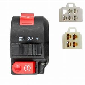 9 Wire Lh Handlebar Starter Switch - Atv