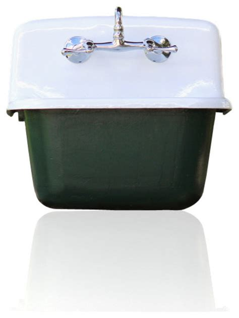 porcelain laundry utility sink gerber refinished deep basin porcelain farm basin utility