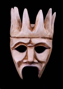 Chorus Greek Theater Mask