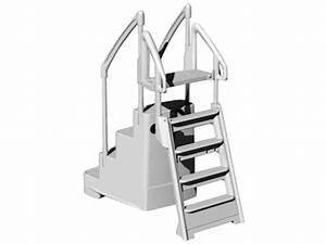 Echelle Pour Escalier : escalier et chelle duo fiesta pour profondeur piscine ~ Melissatoandfro.com Idées de Décoration