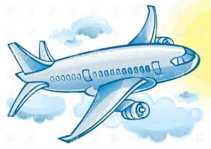 Airplane Cartoon Clip Art