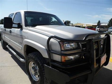 automobile air conditioning service 2006 chevrolet silverado 2500 electronic throttle control find used 2006 chevy 2500 crew cab duramax diesel 4x4 dvd no reserve bid to win in