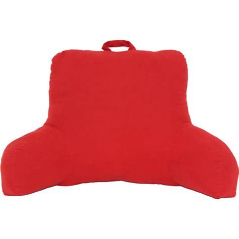 backrest pillow walmart purchase the mainstays backrest pillow cinnabar for less