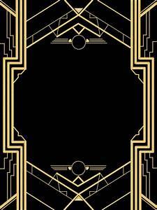 Great Gatsby Invitation Templates Blank   Wallpaper ...