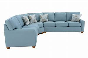 Capris furniture 145 145 sect 2 three piece sectional sofa for 3 piece sectional sofa with sleeper