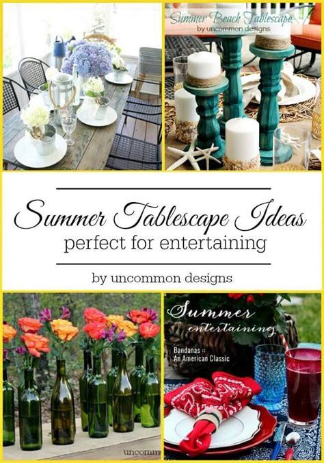 summer tablescape ideas uncommon designs