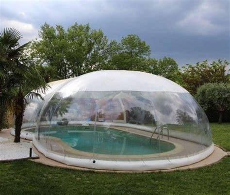 d 233 couvrez l abri de piscine gonflable de la marque italienne favaretti