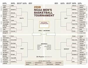 Printable bracket for men's NCAA Tournament 2018: Updated ...