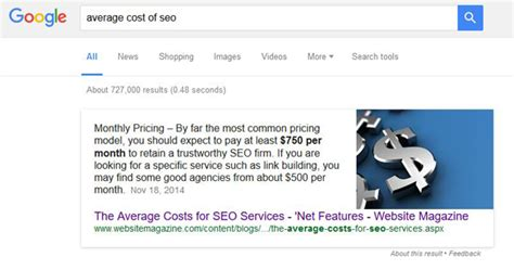 Seo Pricing by Seo Pricing In 2017 Understanding The Average Cost Of Seo